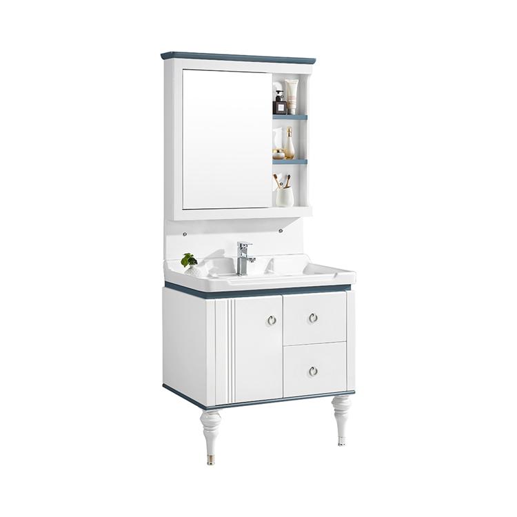 CBM pvc bathroom wash basin cabinet custom bathroom vanity with mirror