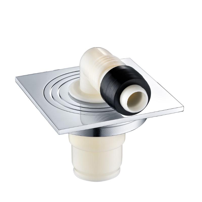CBM Lavadora Autocelera Escurridor cuadrado Baño Desodorante Desodorante Brass Suelo Drenaje