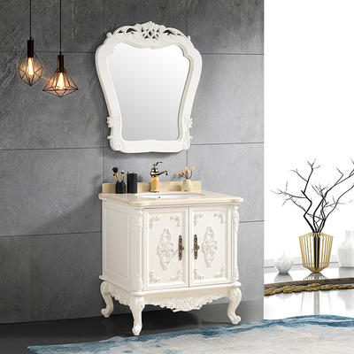 CBM Wholesale Modern European Style Hotel Bathroom Vanity Cabinet bathroom sink and cabinet combo
