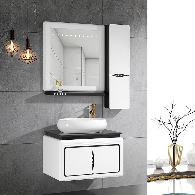 CBM Bathroom Cabinet Lighting Over Mirror