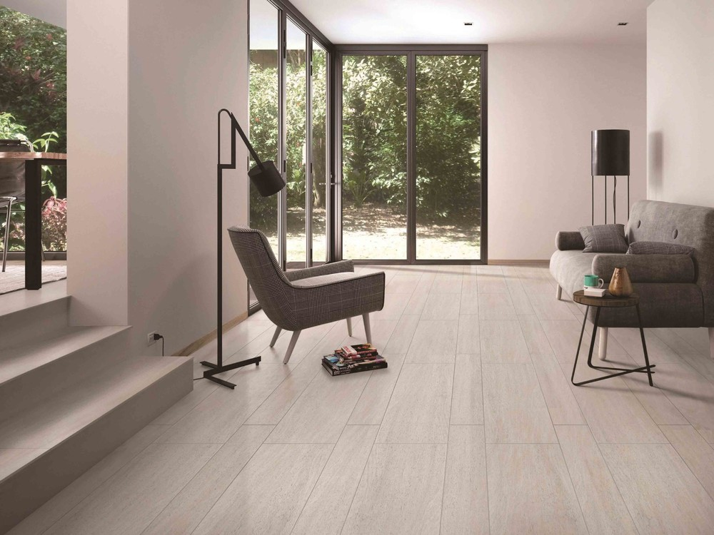 Wenge imitated wood look floor tiles 150*900