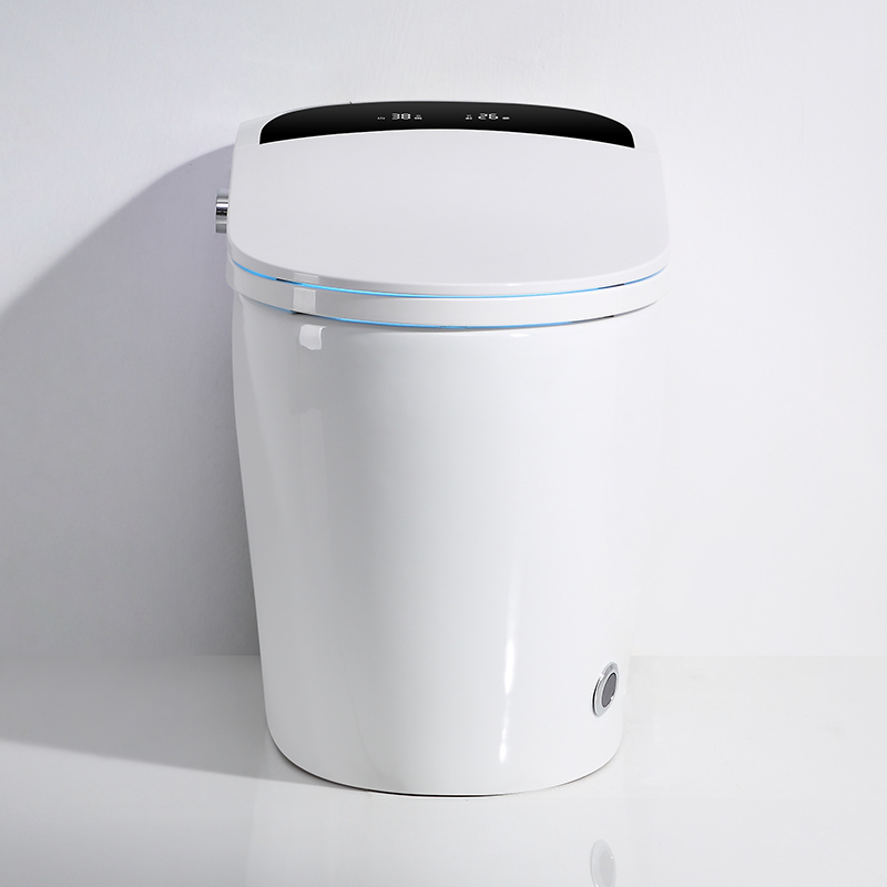 CBM-I20 Fabricante Inodoro inteligente pantalla LED Baño Ama de casa Sensor eléctrico Aseo
