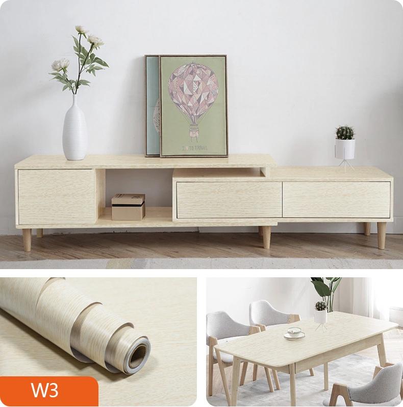 Imitation wood grain waterproof wall and furniture paster