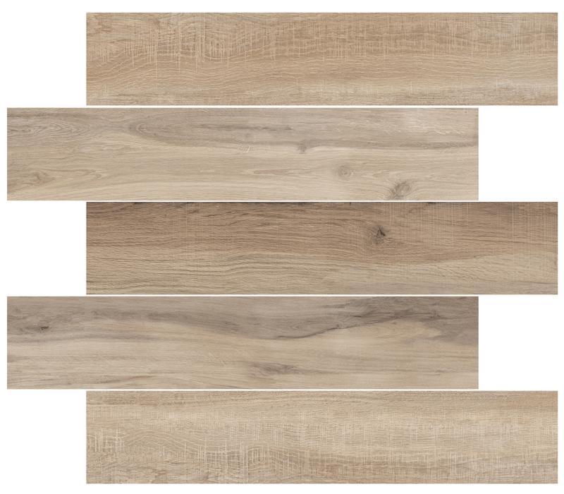 Low water absorption wood imitation porcelain tile 200x1200