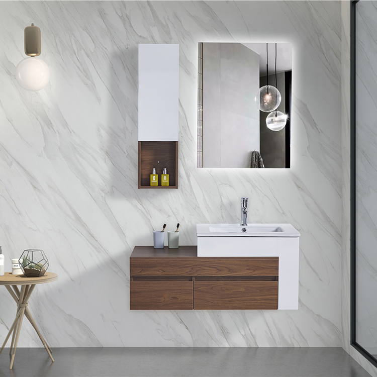 CBM good Quality Manufacturer Modern Plywood Vanities Bathroom Cabinets WIth Wash Basin