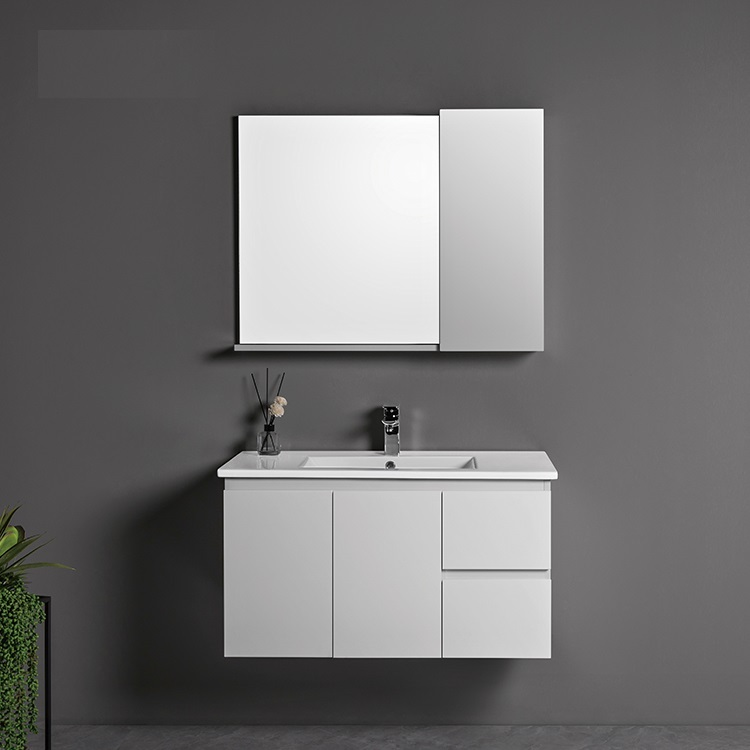 CBM New design style wall mounted bathroom furniture cabinet vanity for modern homes